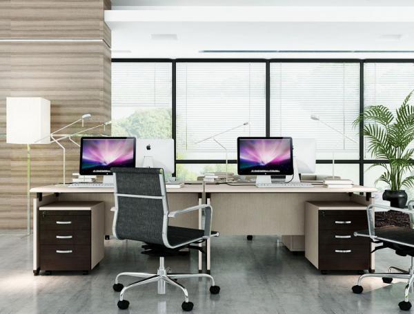 Tận dụng không gian yên tĩnh tại văn phòng là điều rất quan trọng đối với bất cứ một người nhân viên văn phòng nào (Ảnh Không gian làm việc)