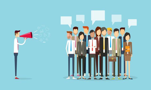 Lãnh đạo giỏi: Khi người khác nói hãy giao tiếp bằng mắt với họ chứ đừng cứ cúi mặt vào công việc nhé!