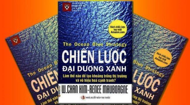 Sách về nghệ thuật lãnh đạo: chiến lược đại dương xanh