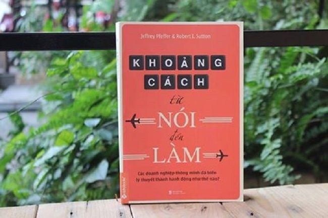 Sách về nghệ thuật lãnh đạo: khoảng cách từ nói đên làm