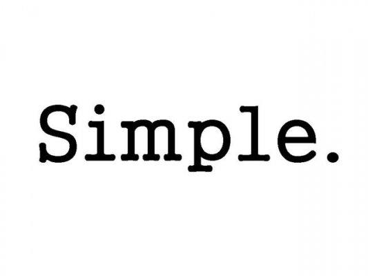 Sống đơn giản