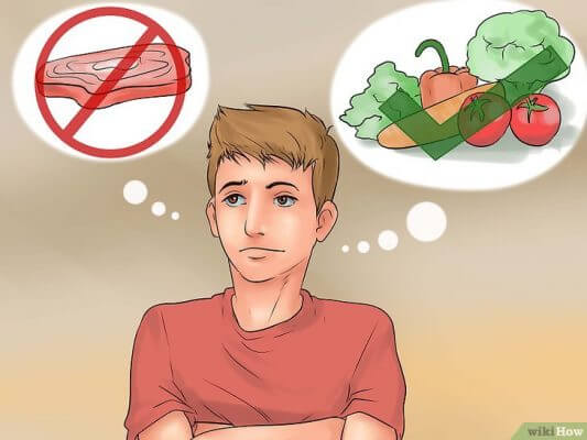 Cách sống khoẻ mạnh: Cần cân nhắc ăn thịt. Nên ăn nhiều rau quả, chất xơ