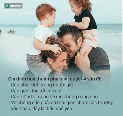 Gia đình hoà thuận cần làm