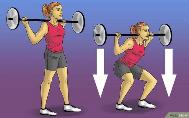 Làm thế nào để có cơ bắp: bài tập cho cơ đùi