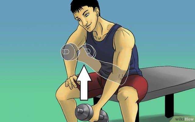 Làm thế nào để có cơ bắp: bài tập cho cơ tay