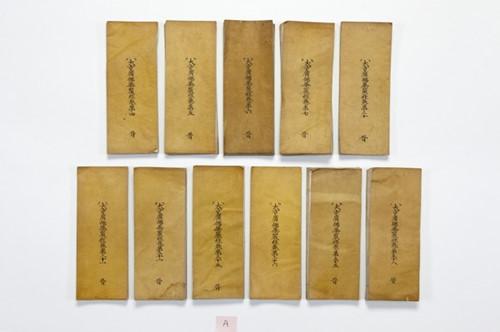 Phat hien 29 ban kinh Phat chua trong pho tuong Phat 6 the ky-Hinh-2