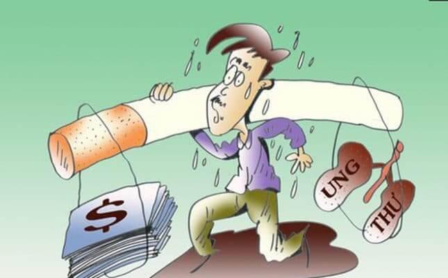 Tác hại hút thuốc lá với sức khoẻ