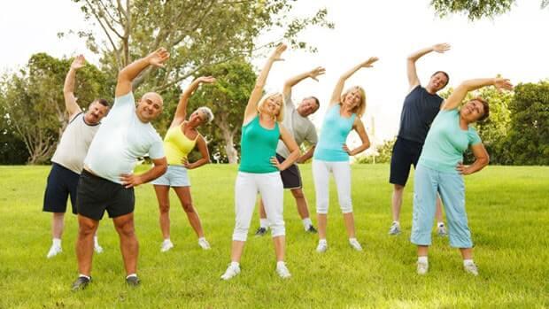 Tập thể dục để sống mạnh khoẻ mỗi ngày