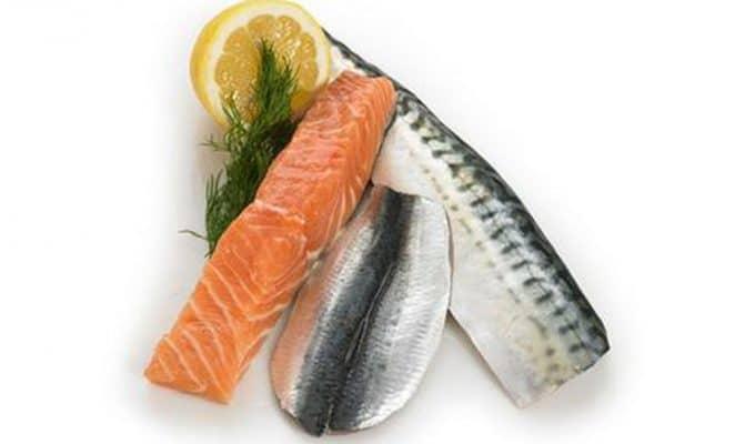 Thực phẩm tốt cho gan: Cá béo