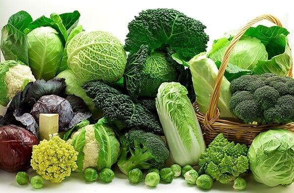 Thực phẩm tốt cho gan: Một số loại rau xanh