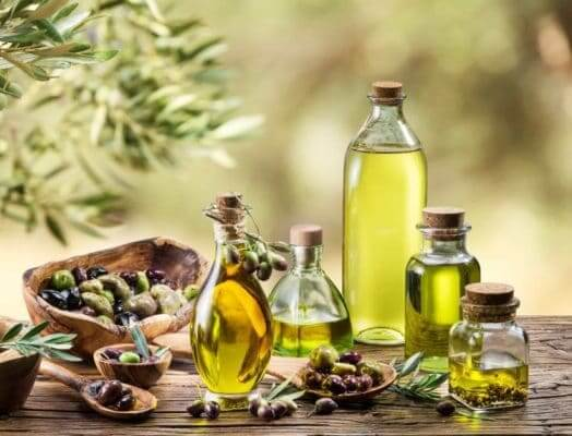 Thực phẩm tốt cho tim mạch: dầu olive