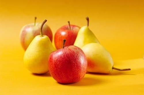 Thực phẩm tốt cho tim mạch: táo và lê
