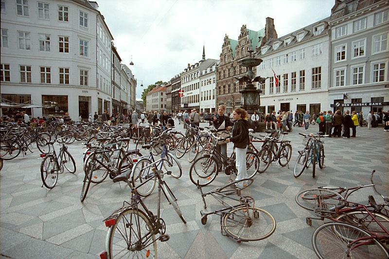 Đây là 'giờ cao điểm' ở thủ đô Copenhagen, Đan Mạch